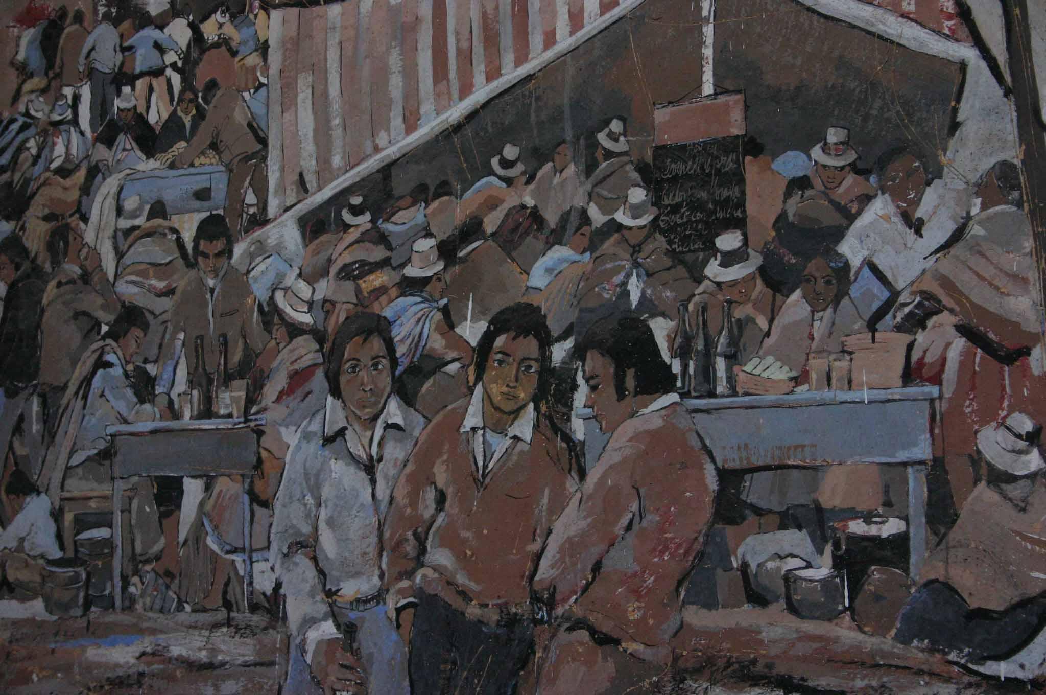 Painting - Cuzco, Peru